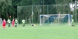 Úvodní gól Koníčka