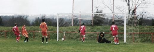 Gol na 1 : 1